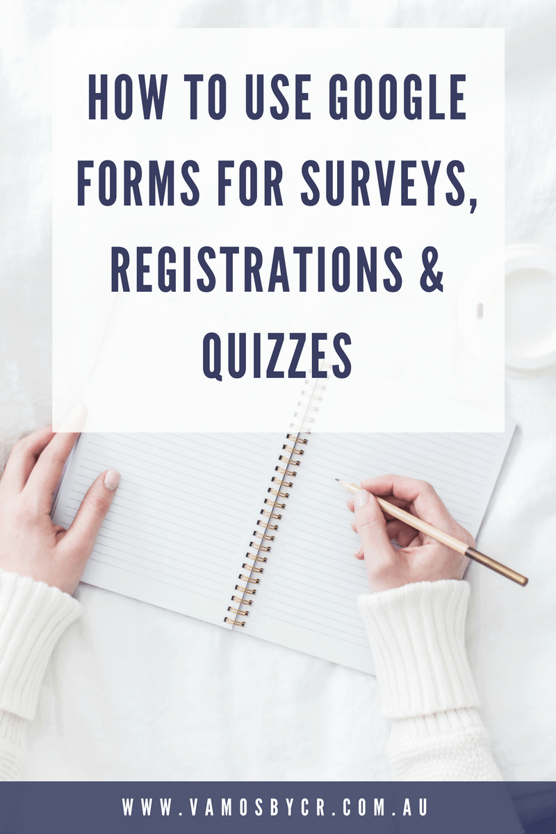 How to Use Google Forms for Surveys, Registrations & Quizzes Tutorial