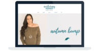 Nurturing Mama Website Design