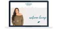 Nurturing Mama Website Design