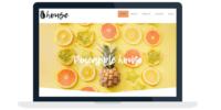 Pineapple House Website Design