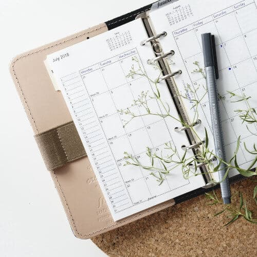 Diary Booking