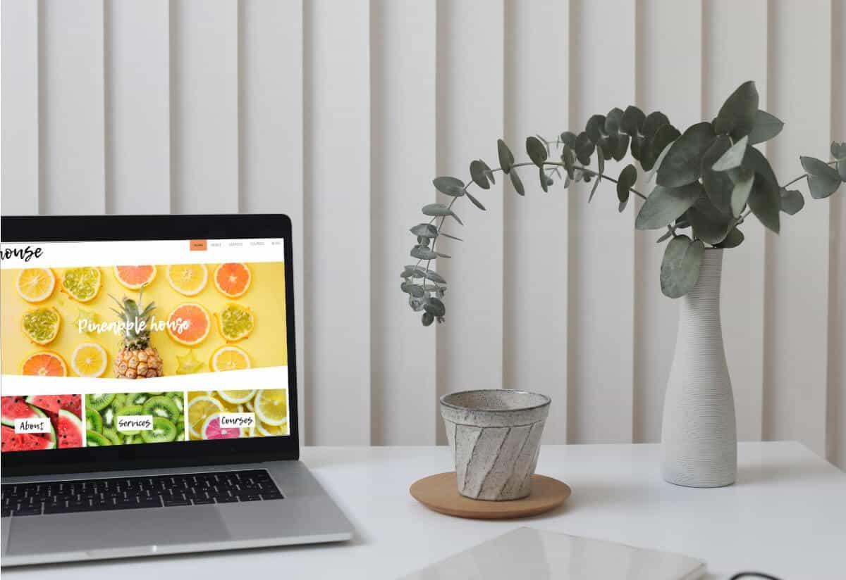 Pineapple House WordPress Custom Web Design